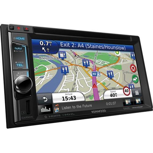 """Navigatie universala Kenwood DNX-4150BT, 2 DIN, Bluetooth, Navi GARMIN?, 4x50W, ecran 6.2"""""""