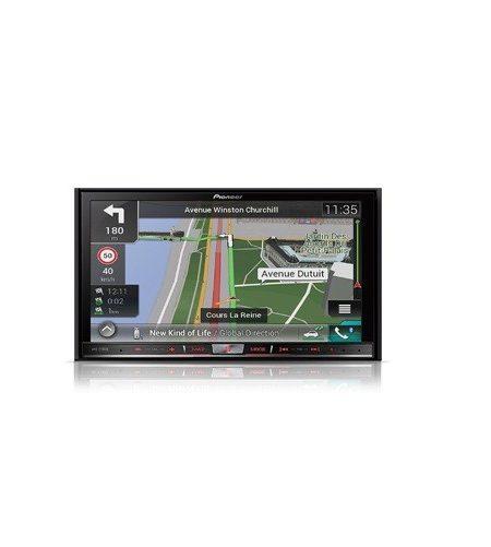 Navigatie universala  Pioneer AVIC-F70DAB, 2DIN, Navigatie GPS, Bluetooth, HDMI, 4X50W, ecran 7.0''