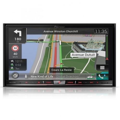 Navigatie universala  Pioneer AVIC-F77DAB, 2DIN, Navigatie GPS, Bluetooth, HDMI, 4X50W, ecran 7.0''