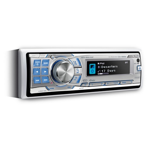Player auto Alpine CDA-9886M, USB, Bluetooth, CD, iPod/iPhone, 4x50W
