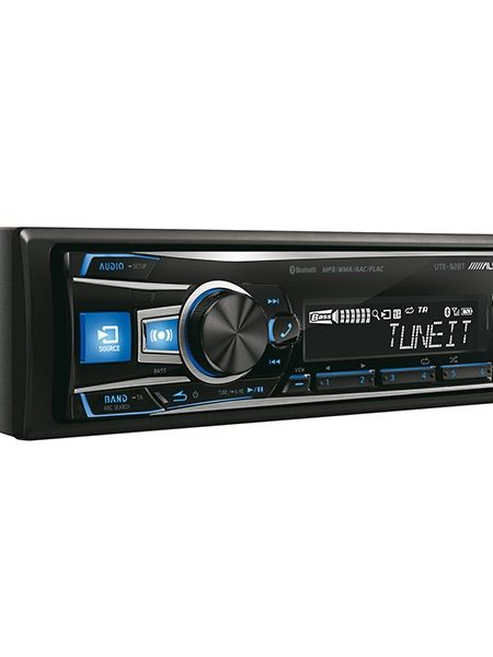 Player auto Alpine UTE-92BT, 4x50W, USB, AUX, CD, Bluetooth, iPod/iPhone, Panou frontal detasabil
