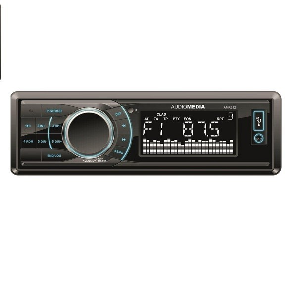 Player auto Audiomedia AMR 312, 4x40 w, FM ,SD,USB, Fata detasabila