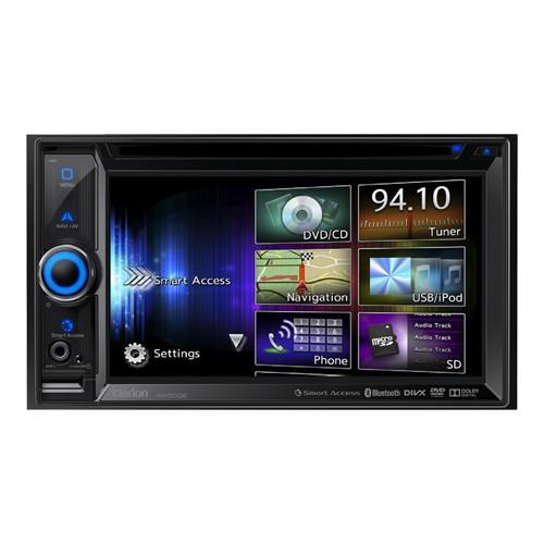 Player auto Clarion NX-503E, 2DIN, DVD, USB, Sistem de navigatie cu harta Full Europe