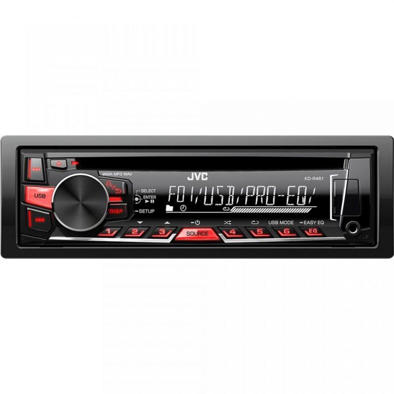 Player auto JVC KD-R461EY , CD, MP3, USB, AUX, 4x50W