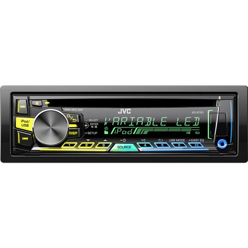 Player auto JVC KD-R761EY , CD, MP3, USB, AUX, iPod, 4x50W