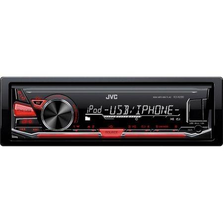 Player auto JVC KD-X230, 4x50W, USB, AUX, subwoofer control