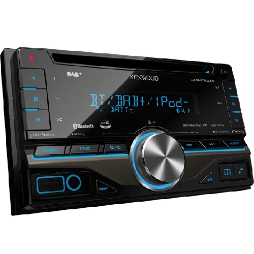 Player auto Kenwood DPX-406DAB, 2DIN, Bluetooth, USB, AUX, 4x50W