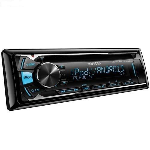 Player auto Kenwood KDC-364U, CD, MP3, USB, AUX, iPod 4x50W