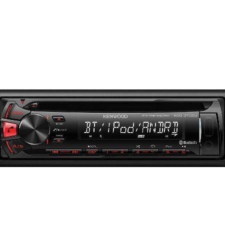 Player auto Kenwood KDC-BT35U, CD, MP3, Bluetooth, USB, AUX, iPod, 4x50W