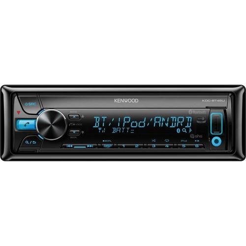 Player auto Kenwood KDC-BT45U, CD, MP3, Bluetooth, USB, AUX, iPod, 4x50W