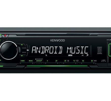 Player auto Kenwood KMM-102GY, MP3, USB, AUX, 4x50W