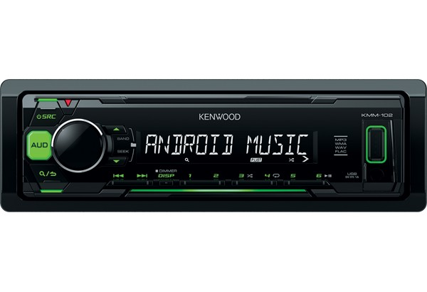 Player auto Kenwood KMM-102GY, MP3, USB, AUX, 4x50W