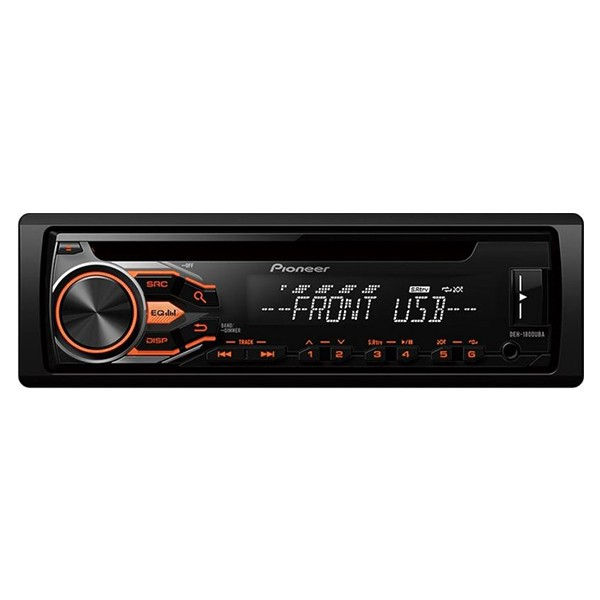 Player auto Pioneer DEH-1800UBA, 4x50W, USB, AUX, CD, Android, panou frontal detasabil