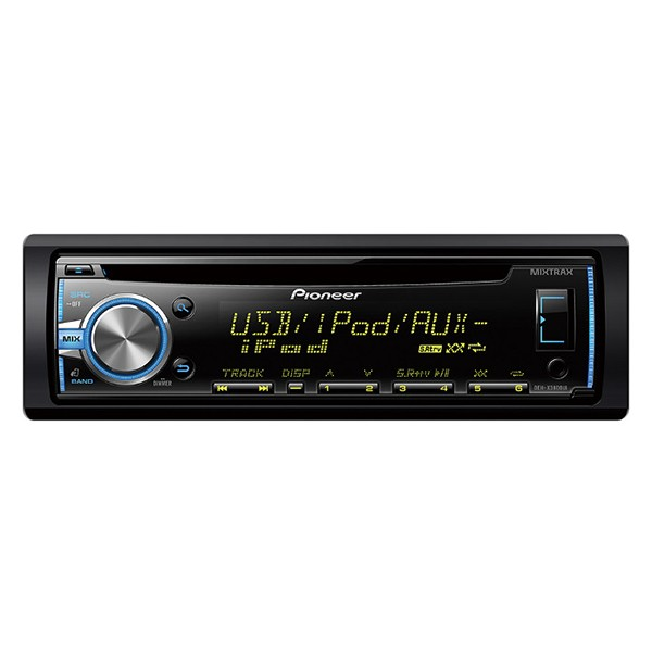 Player auto Pioneer DEH-X3800UI, 4x50W, USB, AUX, CD, iPod/iPhone, Android, panou frontal  detasabil