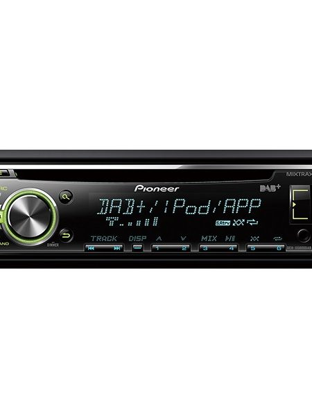Player auto Pioneer DEH-X6800DAB, 4x50W, USB, AUX, CD, iPod/iPhone, Android, panou frontal detasabil