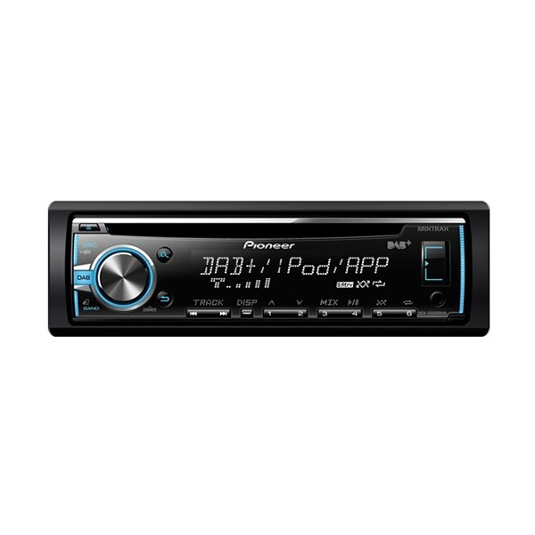 Player auto Pioneer DEH-X7800DAB, 4x50W, USB, AUX, CD, Bluetooth, iPod/iPhone, Android, panou frontal detasabil