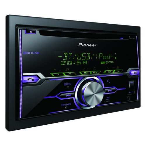 Player auto Pioneer FH-X720BT, 4 x 50W, 2DIN, AUX In, USB, Bluetooth, 2 perechi de iesiri RCA, iPod/iPhone si Android compatibil