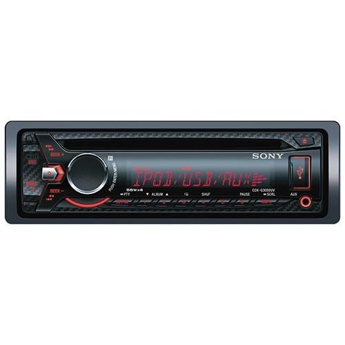 Player auto Sony CDXG3000UV.EUR , CD, MP3, USB, AUX, iPod 4x55W