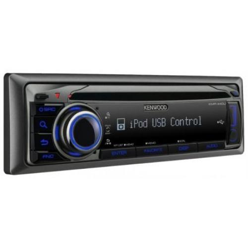 Receptor CD & USB Marin Kenwood KMR-440U,  Bluetooth, USB, AUX, iPod, 4x50W