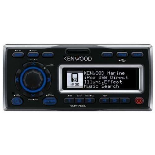 Receptor USB Marin Kenwood KMR-700U,  Bluetooth, USB, AUX, iPod, 4x50W