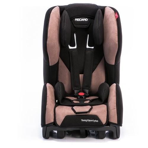 Scaun auto RECARO Young Expert Plus Mocca recomandat copiilor 9-36 kg si varsta 9 luni - 12 ani