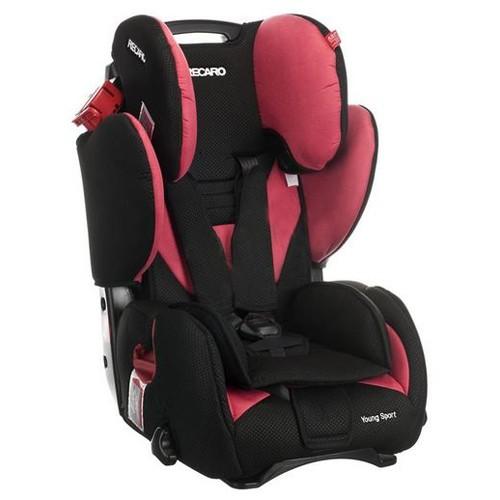 Scaun auto RECARO Young Sport Cherry recomandat copiilor 9-36 kg si varsta 9 luni- 12 ani