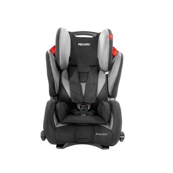 Scaun auto Recaro Young Sport Graphite, recomandat copiilor intre 9 luni - 12 ani si greutate 9- 36 kg
