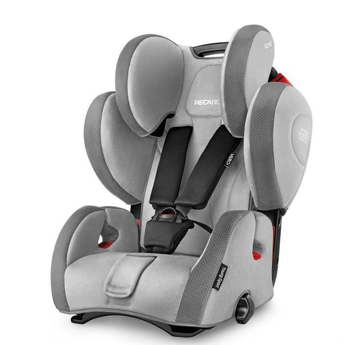 Scaun auto RECARO Young Sport Hero Shadow recomandat copiilor 9-36 kg si varsta 9 luni - 12 ani