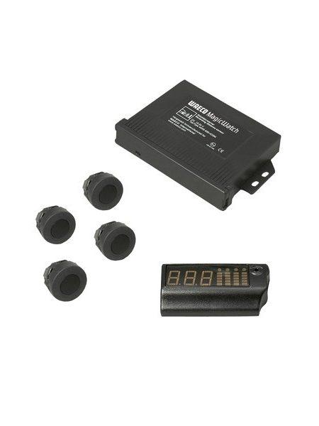Senzori de parcare Waeco MWE-650-4DSM , cu montare pe bara din spate, recomandat pentru camioane
