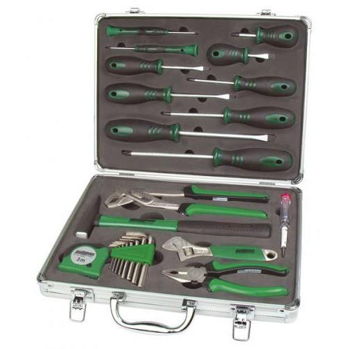 Set Profesional 24 piese cutie aluminiu -MANNESMANN - M29024