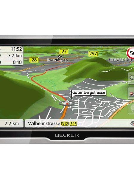 Sistem de navigatie Becker Active 6 LMU Transit , diagonala 6.2?, TMC, Soft Camion, Full Europe