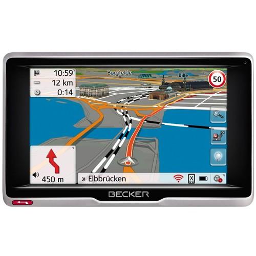"Sistem de navigatie Becker Professional 5 LMU Europa, diagonala 5.0"", Wi-Fi, Bluetooth, actualizari gratuite pe viata"