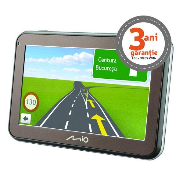 Sistem de navigatie Mio Spirit 7500 FEU LM, diagonala 5?, Full Europe + actualizari gratuite pe viata