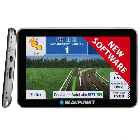 Sistem de navigatie portabil Blaupunkt TravelPilot 53 EU LMU, TCM Active, soft TOm TOM