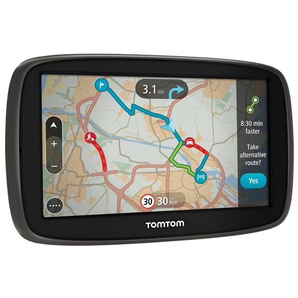 """Sistem de navigatie portabila TomTom Go 50, ecran 5"""", TMC, harta Full Europe + actualizari gratuite pe viata"""