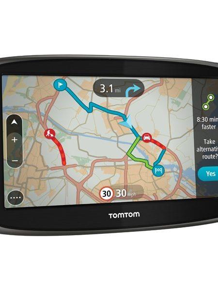 """Sistem de navigatie portabila TomTom Go 60, ecran 6"""", TMC, harta Full Europe + actualizari gratuite pe viata"""