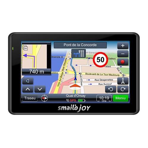 Sistem de navigatie Smailo Joy V2, diagonala 4.3?, Harta Romania