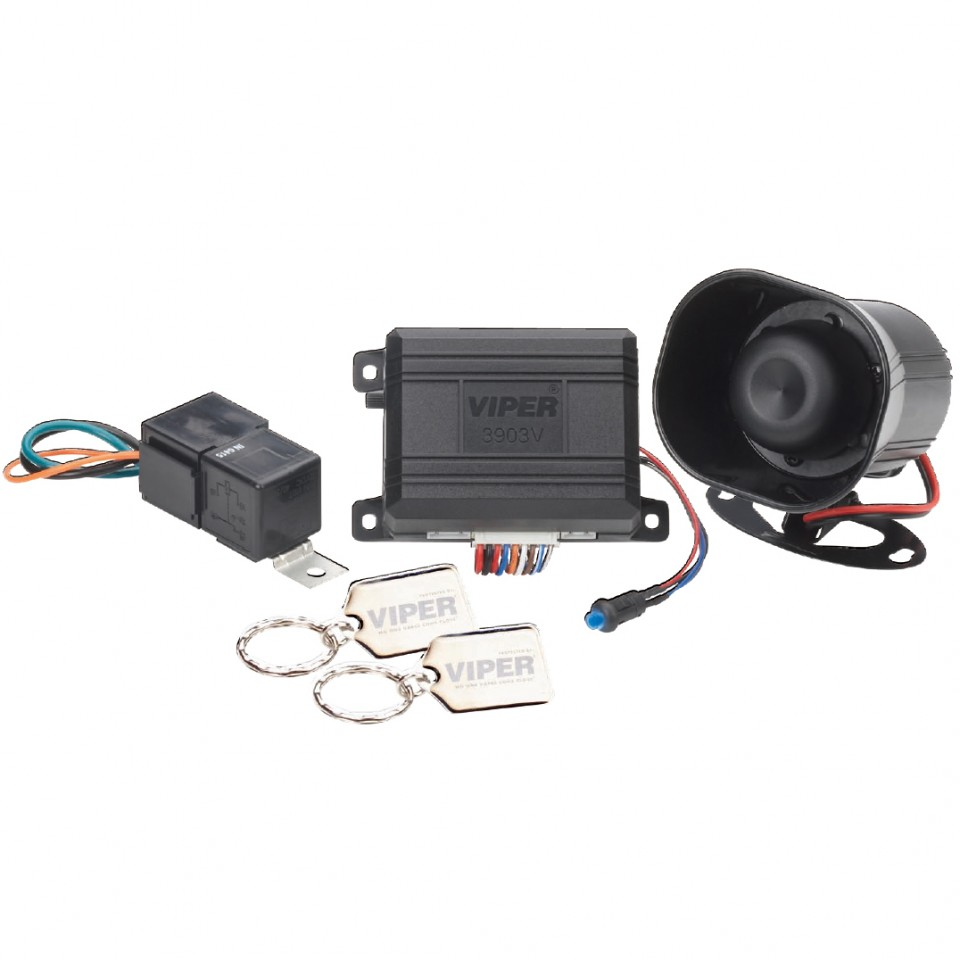 Sistem de securitate VIPER 3903V: foloseste telecomanda originala a masinii