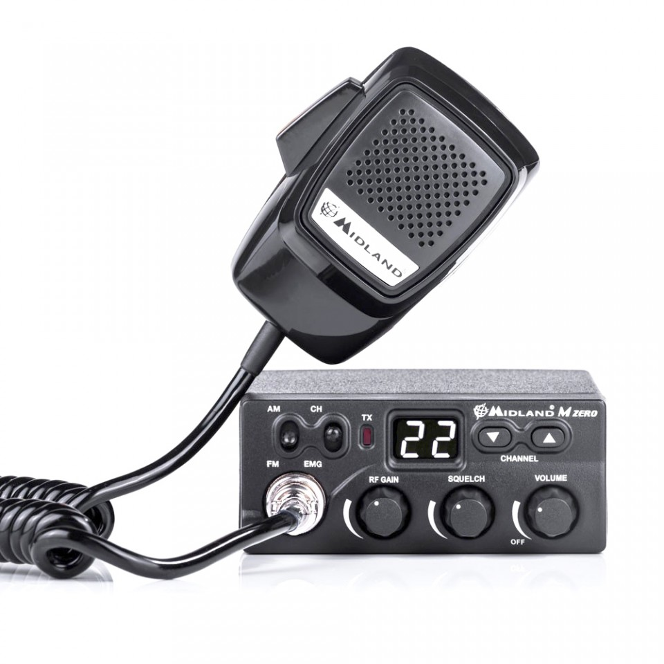 Statie auto radio CB Midland M Zero Plus Cod C1169.01