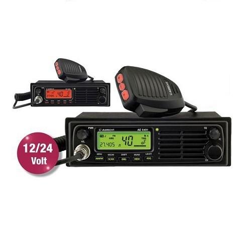 Statie radio auto CB Albrecht AE 6491 Cod 12648 convertor automat 12-24V