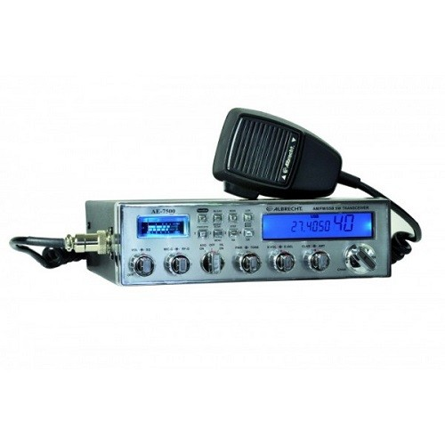 Statie radio auto CB AM/FM/SSB Albrecht AE 7500 Cod 12750 pentru radioamatori
