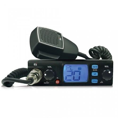 Statie radio auto CB TTi TCB-560 convertor 12-24V inclus si squelch automat