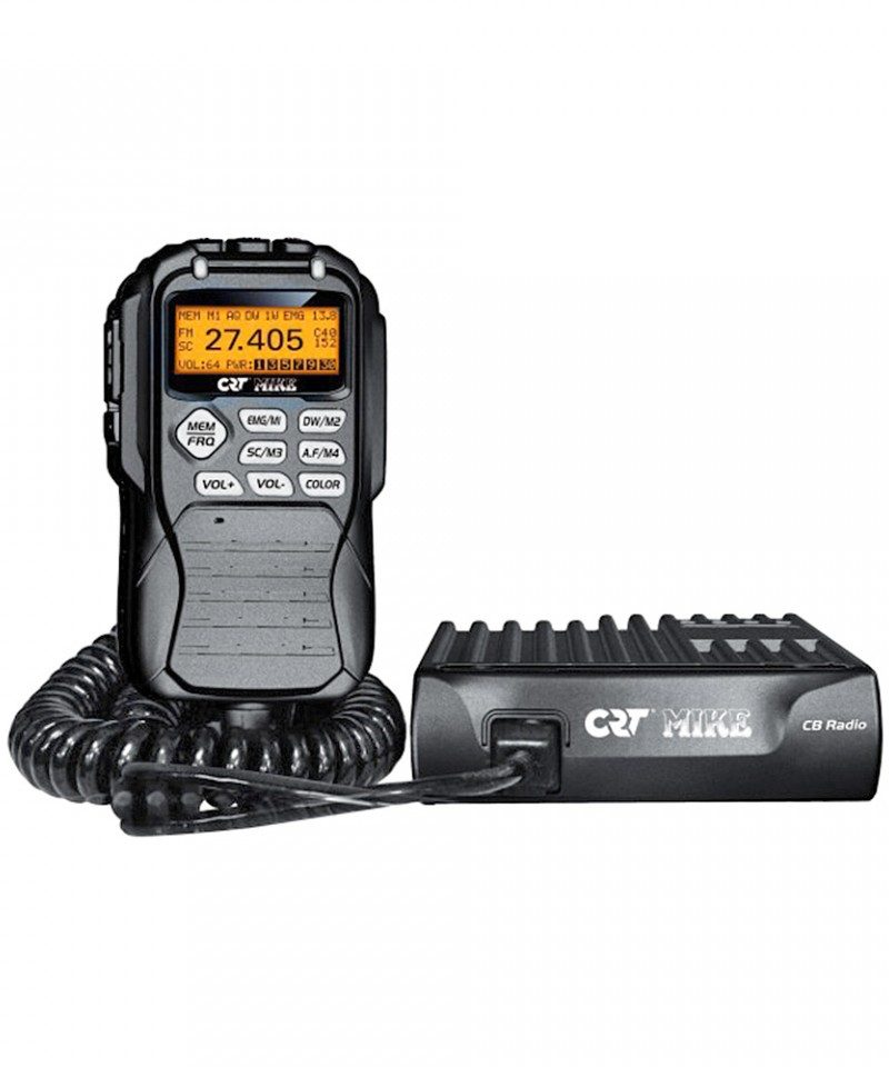 Statie radio CB CRT Mike, ASQ Squelch Automat