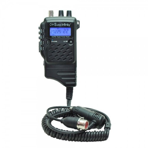 Statie radio CB portabila PNI S200 Infinity  Turbo Extreme (Turbo Explorer), ASQ Squelch manual