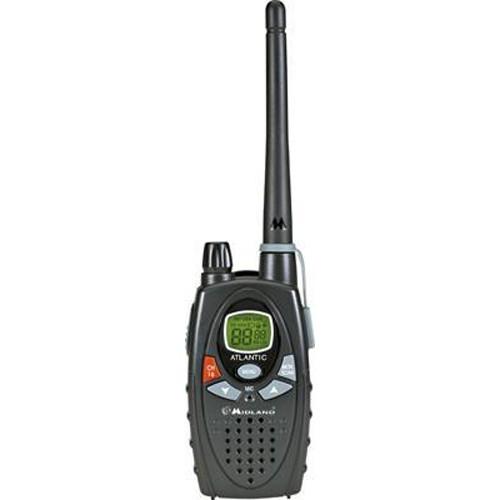 Statie radio maritima portabila Midland ATLANTIC XT culoare Negru cod G1037.05 include accesorii