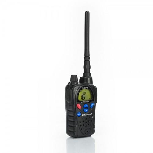 Statie radio maritima portabila Midland PACIFIC culoare Negru Cod G1094 accesorii incluse