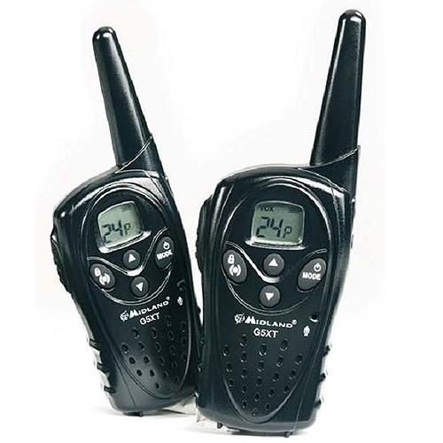 Statie radio PMR portabila Midland G5 XT set cu 2bc