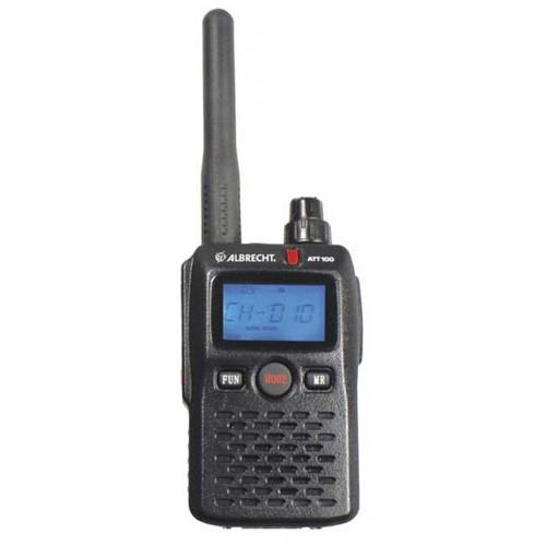 Statie radio portabila Albrecht ATT 100, pentru Ghid turistic Cod 29902