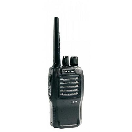 Statie radio UHF portabila Midland G11, 430-470 MHz