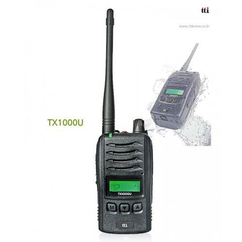 Statie radio UHF portabila TTi TX1000U profesionala 420-450 Mhz